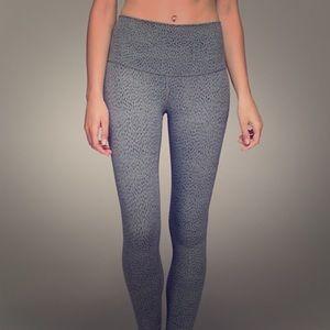 Lululemon gray dottie 6 leggings